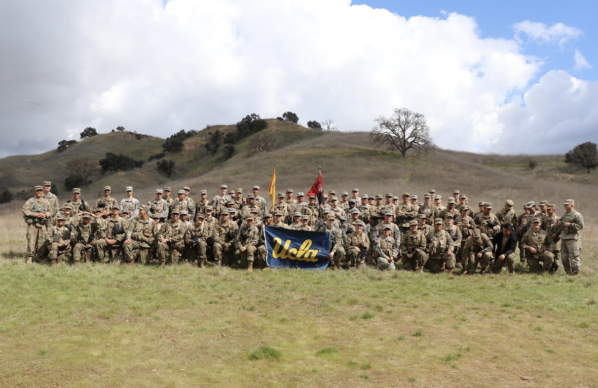 ucla army group photo