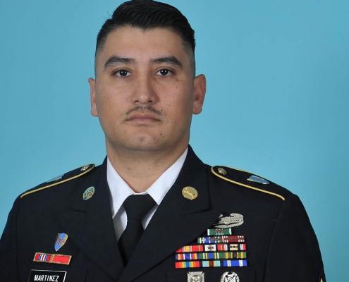 Sergeant First Class Kaylum Martinez