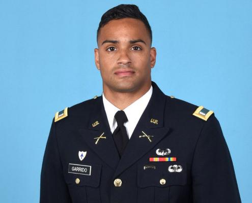 First Lieutenant Jonathan Garrido