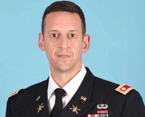 Lieutenant Colonel Kevin Toms
